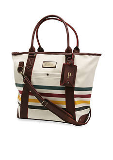Ricardo Beverly Hills PENDLETON GLACIER NATIONAL PARK COLLECTION 20 TOTE IVORY WHITE