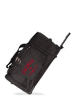 Arkansas Razorbacks Luggage 27-in. Rolling Duffel