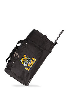 Denco LSU Luggage 27-in. Rolling Duffel
