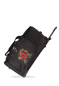 Maryland Terrapins Luggage 27-in. Rolling Duffel