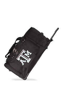 Denco Texas A & M Luggage 27-in. Rolling Duffle