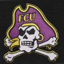 Spinner Luggage: Silver Denco East Carolina Pirates Hardside 20-in. Spinner - Online Only