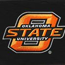 Denco Sports Luggage: Black Denco Oklahoma State Cowboys Hardside 20-in. Spinner - Online Only