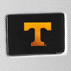 University of Tennessee Gifts: Silver Denco Tennessee Volunteers Hardside 20-in. Spinner - Online Only