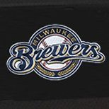 Hard Case Luggage: Black Denco Milwaukee Brewers Hardside 20-in. Spinner - Online Only