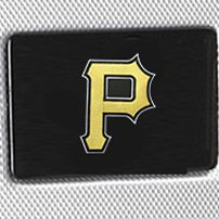 For the Home: Hardside Sale: Silver Denco Pittsburgh Pirates Hardside 20-in. Spinner - Online Only