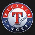 Spinner Luggage: Black Denco Texas Rangers Hardside 20-in. Spinner - Online Only