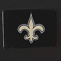 Hard Case Luggage: Black Denco New Orleans Saints Hardside 20-in. Spinner - Online Only