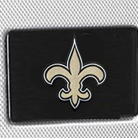 Hard Case Luggage: Silver Denco New Orleans Saints Hardside 20-in. Spinner - Online Only