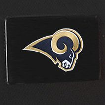 Hard Case Luggage: Black Denco St. Louis Rams Hardside 20-in. Spinner - Online Only