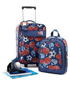 J Khaki 2-piece Luggage Set - Sports