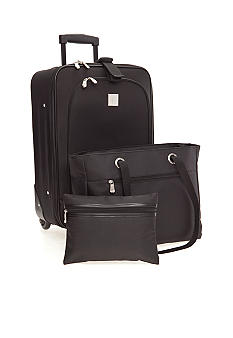New Directions 3 Piece Luggage Set - Black