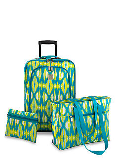 New Directions® 3 Piece Luggage Set- Ikat