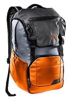 Under Armour Ruckus Backpack Blaze Orange with Graphite