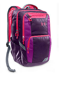 Under Armour Keyser Backpack in Purple Rain with Strobe