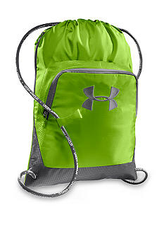 Under Armour Exeter Sackpack inHyper Green with Graphite