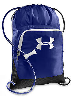 Under Armour Exeter Sackpack in Royal with Black