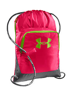 Under Armour Exeter Sackpack in Neo Pulse with Graphite