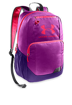 Under Armour Ozzie Backpack in Strobe with Purple Rain