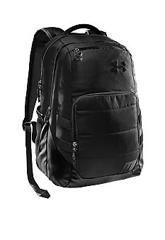 Under Armour Camden Backpack in Black with Charcoal