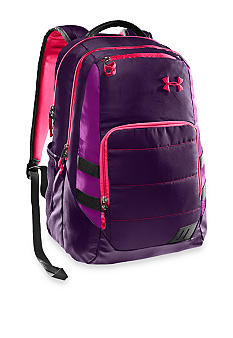 Under Armour Camden Backpack in Purple Rain with Strobe