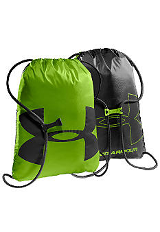 Under Armour Ozzie Sackpack in Hyper Green with Black