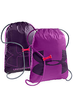 Under Armour Ozzie Sackpack in Strobe with Purple Rain