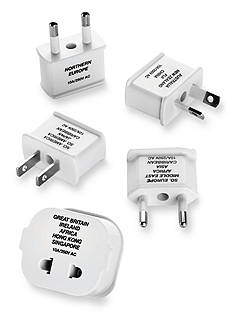 Travel Smart Polarized Adapter Plug 5-Piece Set