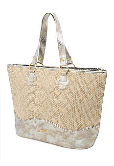 GOTTEX 15-in. Straw Tote GT122B Collection