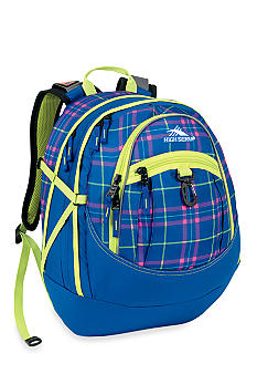 High Sierra Fatboy Backpack - Prep Plaid