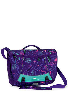 High Sierra Tank Messenger Bag - Ocean Party