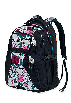 High Sierra Swerve Backpack - Black Briar