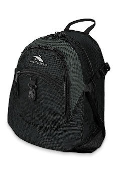 High Sierra Airhead Backpack Black Charcoal Mesh