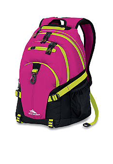 High Sierra Loop Backpack - Fuchsia Chartreuse