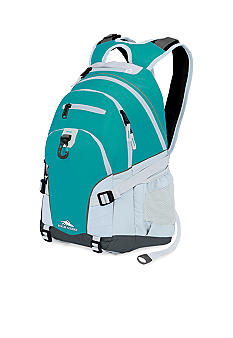 High Sierra Loop Backpack - Tropic Teal White
