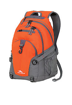 High Sierra Loop Backpack - Charcoal Red Line