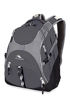 High Sierra Access Backpack - Charcoal