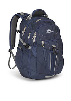 High Sierra Business Backpack - True Navy/Charcoal