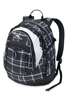 High Sierra Fatboy Daypack - Holmes Black Plaid