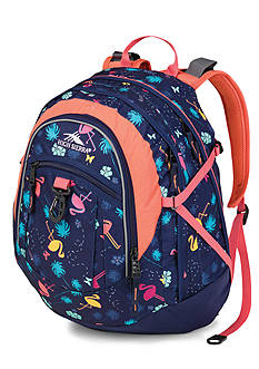 High Sierra Fatboy Backpack - Flamingo Time