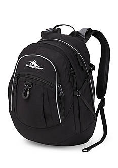 High Sierra Fatboy Backpack - Black