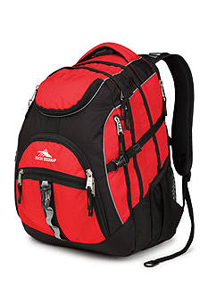 High Sierra Access Backpack - Crimson Mercury