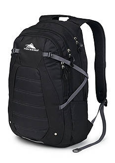 High Sierra Fallout Backpack - Black Charcoal
