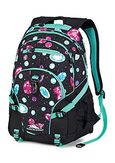 High Sierra Loop Backpack - Black Bejeweled