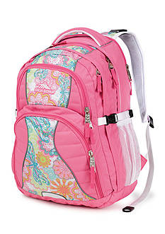 High Sierra Swerve Backpack - Henna Dragon