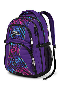 High Sierra Swerve Backpack - Purple Wild Thing