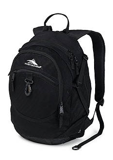 High Sierra Airhead Mesh Backpack - Black