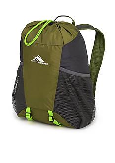 High Sierra Pack-N-Go Backpack - Green