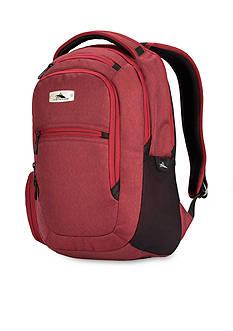 High Sierra UBT Slim Backpack - Cranberry