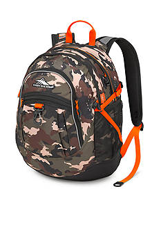 High Sierra Fatboy Camo Backpack